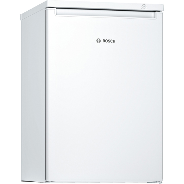 Bosch Serie 2 GTV15NW3AG Under Counter Freezer - White - GTV15NW3AG_WH - 1