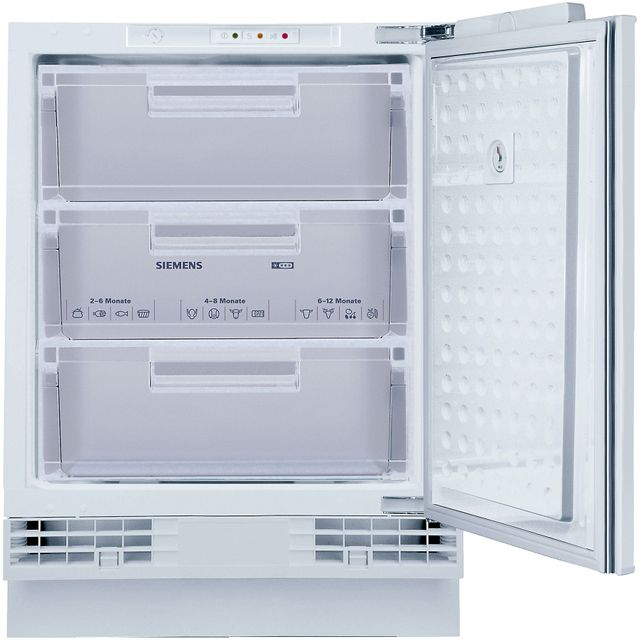 Siemens IQ-500 GU15DAFF0G Integrated Under Counter Freezer - White - GU15DAFF0G_WH - 1