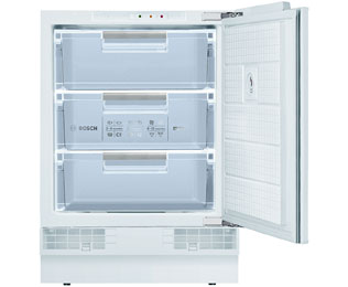 Bosch Serie 6 GUD15A50GB Built Under Under Counter Freezer - White - GUD15A50GB - 1