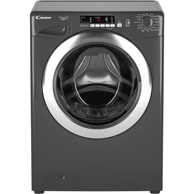 Candy Grand'O Vita GVS1410DC3R 10Kg Washing Machine with 1400 rpm - Graphite - A+++ Rated - GVS1410DC3R_GH - 1