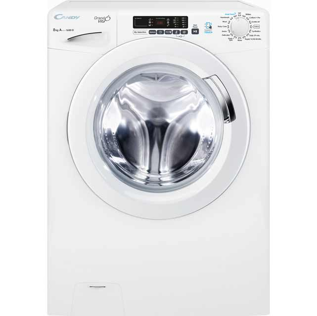 Candy Grand'O Vita 8Kg Washing Machine - White - A+++ Rated