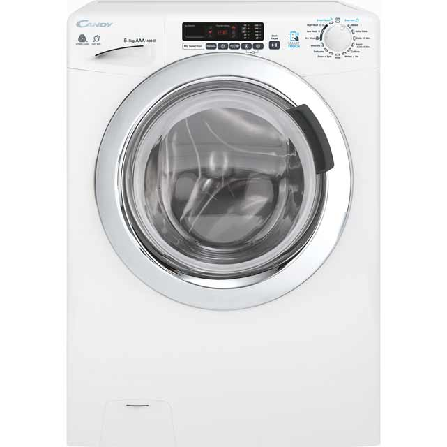 Candy Grand'O Vita GVSW485DC Free Standing Washer Dryer in White