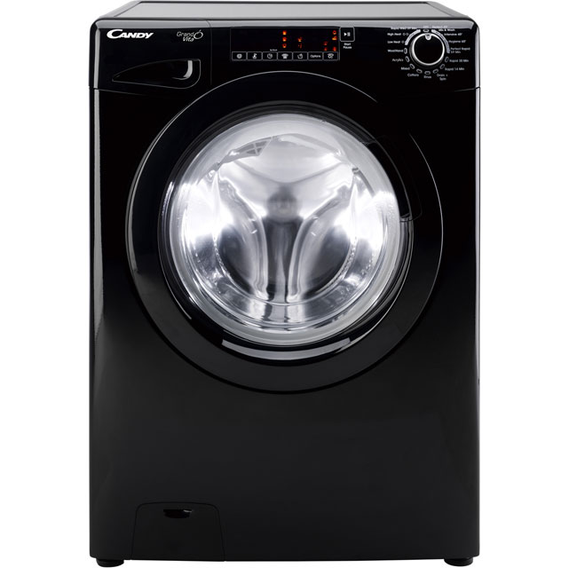 Candy Grand'O Vita GVW496TB 9Kg / 6Kg Washer Dryer with 1400 rpm - Black