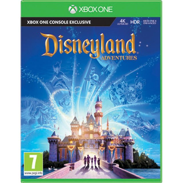 Disneyland Adventures for Xbox One [Enhanced for Xbox One X]