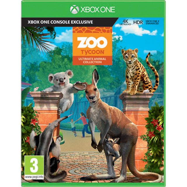 Zoo Tycoon Ultimate Collection for Xbox One [Enhanced for Xbox One X] Game
