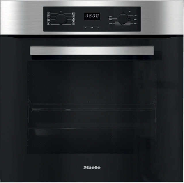 Miele Discovery H2265B Built In Electric Single Oven - Clean Steel - A+ Rated - H2265B_CS - 1