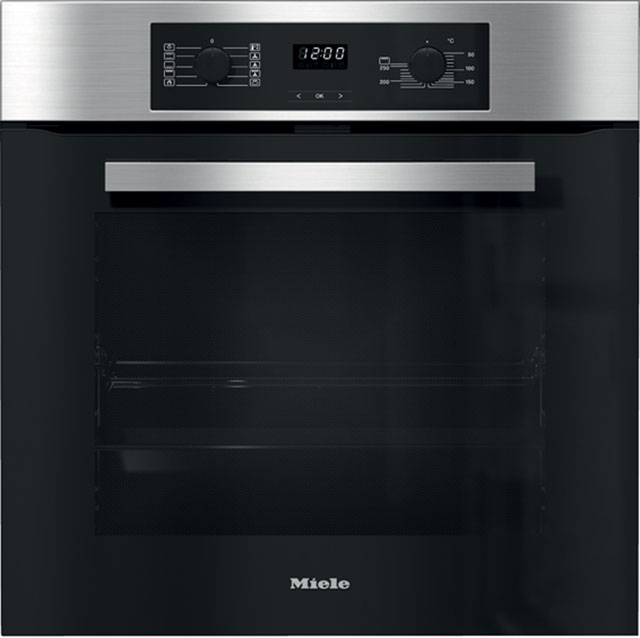 Miele Discovery H2267BP Built In Electric Single Oven - Clean Steel - A+ Rated