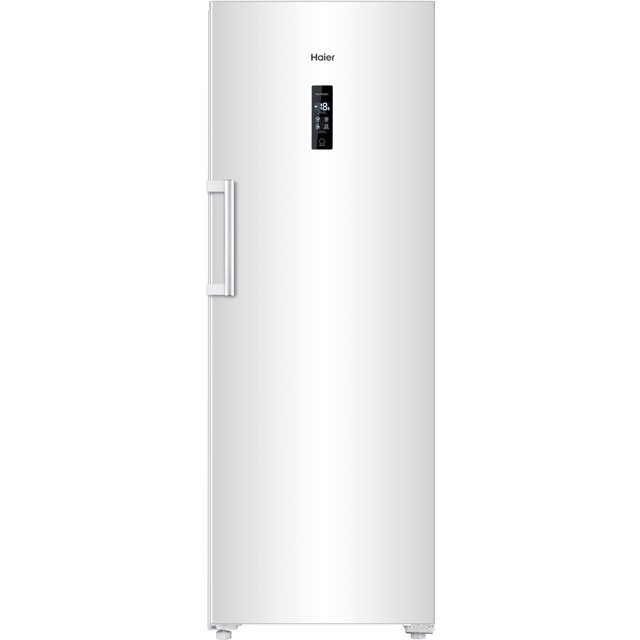 Haier Frost Free Upright Freezer - White - A+ Rated