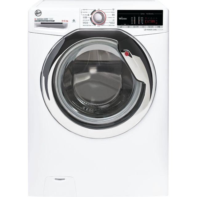 Hoover H-WASH 300 H3DS4855TACE Wifi Connected 8Kg / 5Kg Washer Dryer with 1400 rpm - White - A Rated
