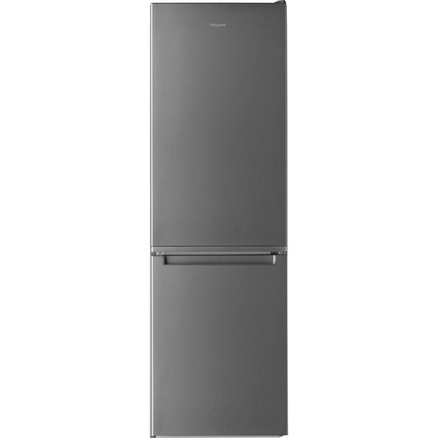 Hotpoint Day1 H3T811IOX 70/30 Frost Free Fridge Freezer - Stainless Steel Effect - A+ Rated Best Price, Cheapest Prices