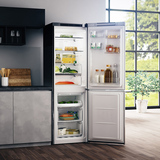 Hotpoint Day1 H3T811IW 70/30 Frost Free Fridge Freezer - White - H3T811IW_WH - 4