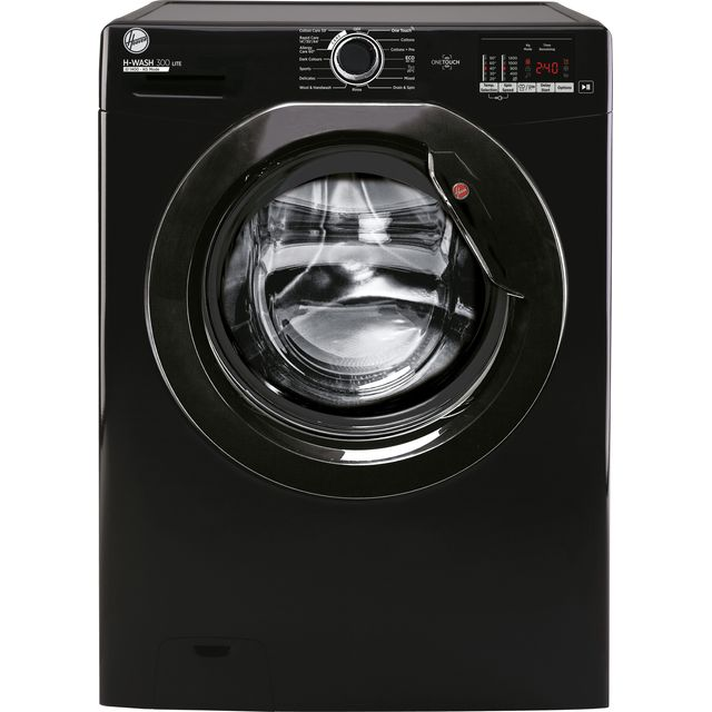 Hoover H-Wash 300 10kg 1400 spin washing machine, black