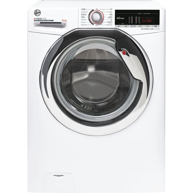 Hoover H-WASH 300 H3WS4105TACE 10Kg Washing Machine - White - H3WS4105TACE_WH - 1