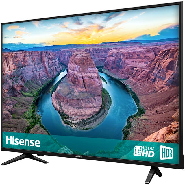 "Hisense H50AE6100UK 50"" Smart 4K Ultra HD TV - Black - H50AE6100UK - 2"