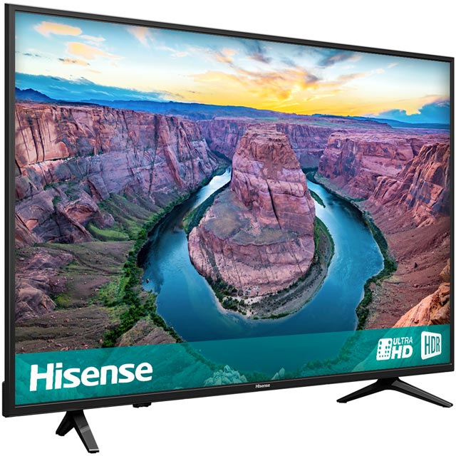 "Hisense H50AE6100UK 50"" Smart 4K Ultra HD TV - Black - H50AE6100UK - 3"