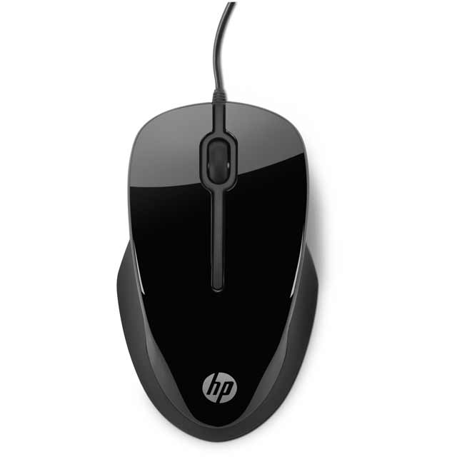 HP X1500 H4K66AA#ABB Mouse in Black / Grey