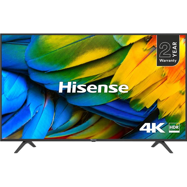 "Hisense H50B7100UK 50"" Smart 4K Ultra HD TV with HDR10 and DTS Studio Sound - H50B7100UK - 1"