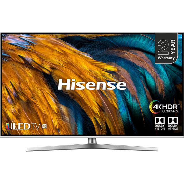 "Hisense H50U7BUK 50"" Smart 4K Ultra HD TV - Silver / Black - H50U7BUK - 1"
