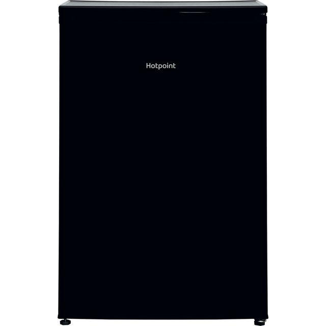 Hotpoint H55ZM1110K1 84x54cm 102L Under Counter Freestanding Freezer - Black
