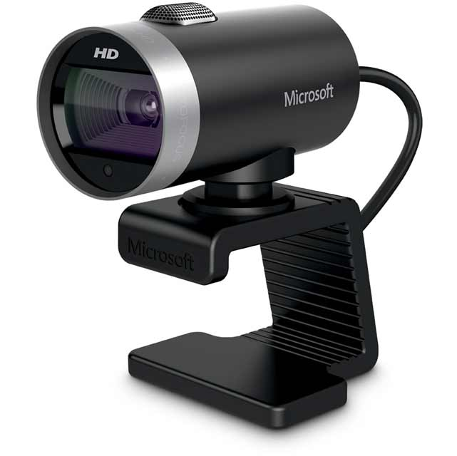 Microsoft LifeCam Cinema H5D-00014 Webcam in Black