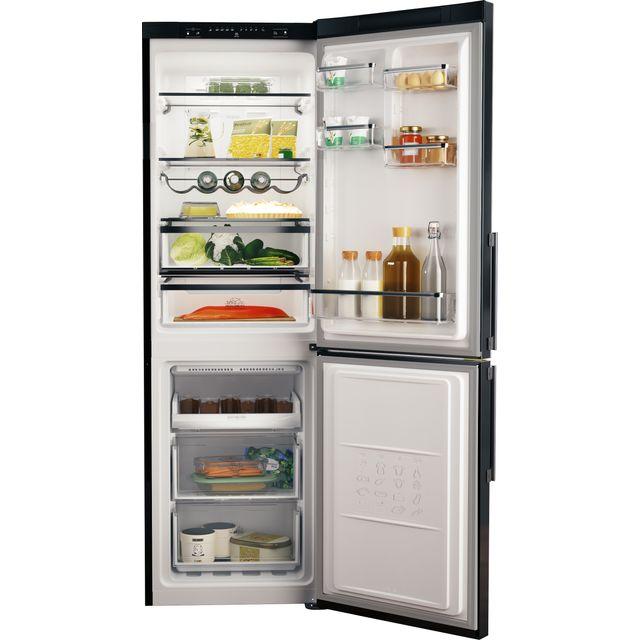 Hotpoint H5T811IKH1 60/40 Frost Free Fridge Freezer - Black - F Rated