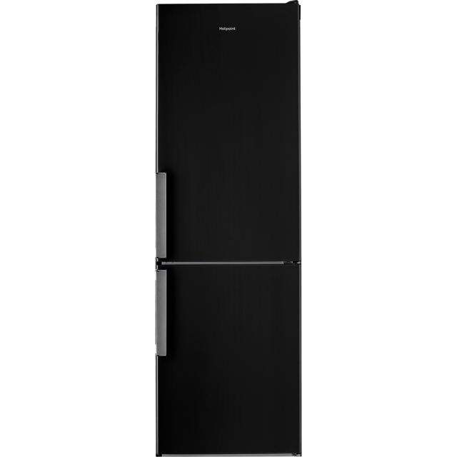 Hotpoint Day1 H5T811IKH 70/30 Frost Free Fridge Freezer - Black - A+ Rated