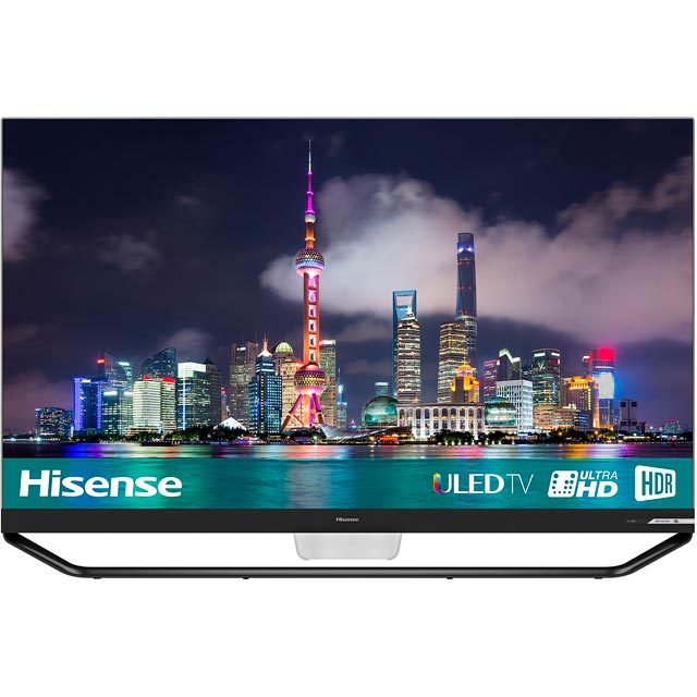 "Hisense H65U9AUK 65"" Smart 4K Ultra HD TV with HDR and Freeview Play - Silver / Black - [ Rated]"