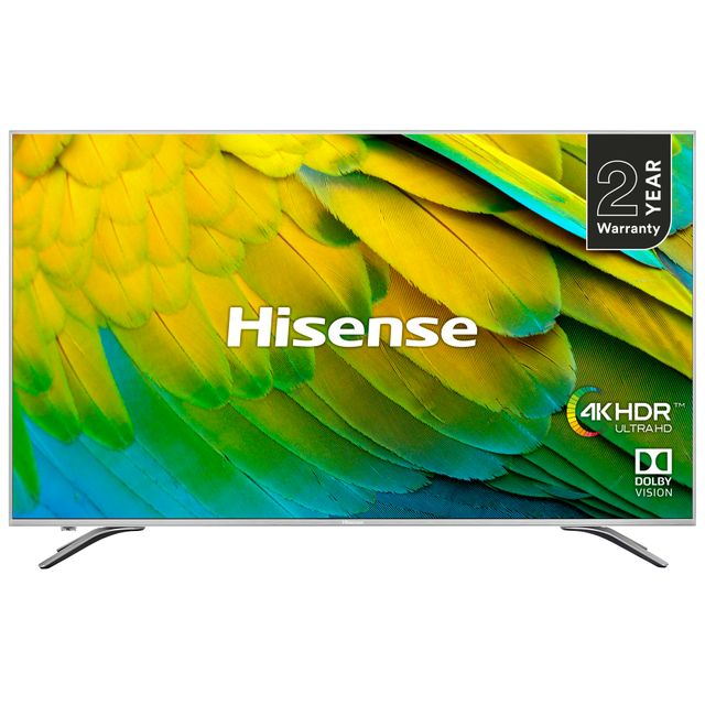 "Hisense H75B7510UK 75"" Smart 4K Ultra HD TV with Dolby Vision and DTS Studio Sound - H75B7510UK - 1"