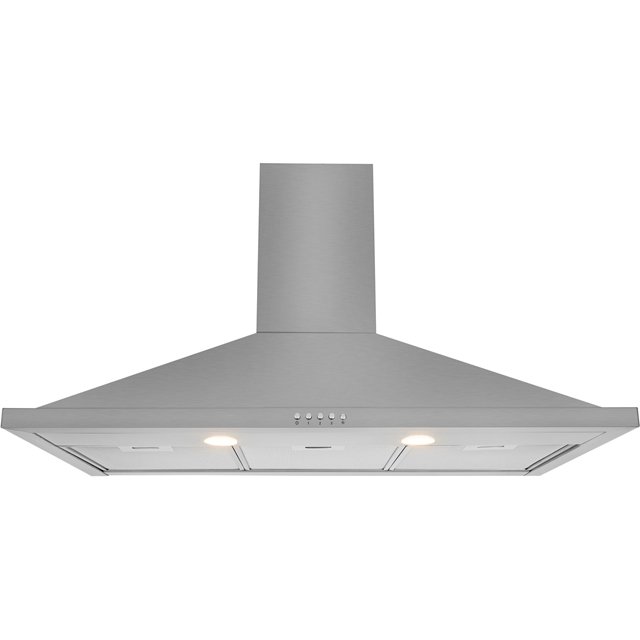 Leisure H92PX 90 cm Chimney Cooker Hood - Stainless Steel - C Rated - H92PX_SS - 1