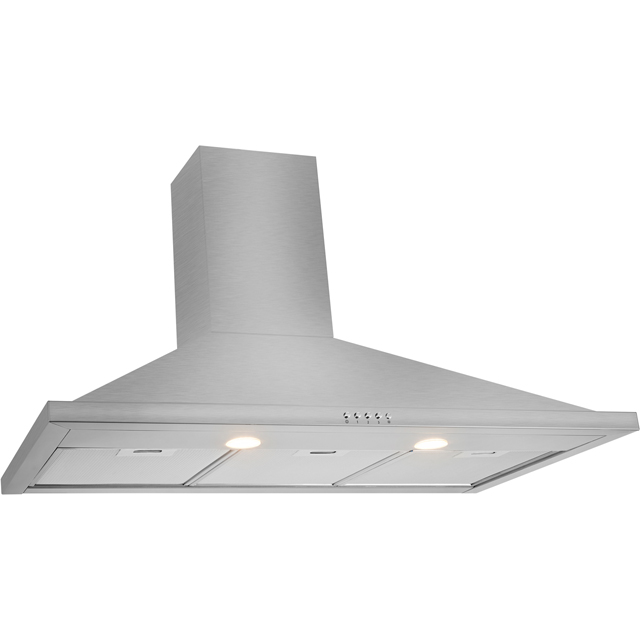 Leisure H92PK 90 cm Chimney Cooker Hood - Black - H92PK_BK - 2