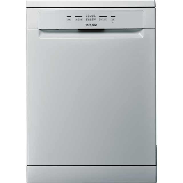 Hotpoint HAFC2B+26SV Standard Dishwasher - Silver Best Price, Cheapest Prices