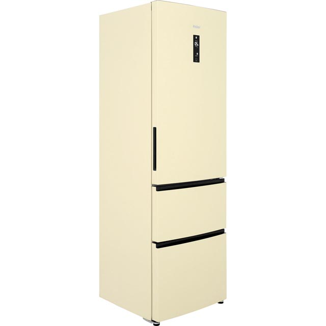 Haier A2FE635CCJ 60/40 Frost Free Fridge Freezer - Cream - A2FE635CCJ_CR - 1