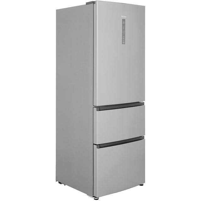 Haier A3FE632CSJ 60/40 Frost Free Fridge Freezer - Silver - A+ Rated - A3FE632CSJ_SI - 1