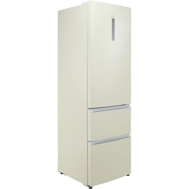 Haier A3FE635CCJ 60/40 Frost Free Fridge Freezer - Cream - A3FE635CCJ_CR - 1