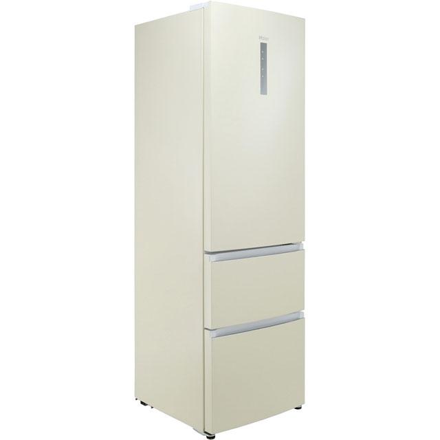 Haier A3FE635CCJ Free Standing Fridge Freezer Frost Free in Cream