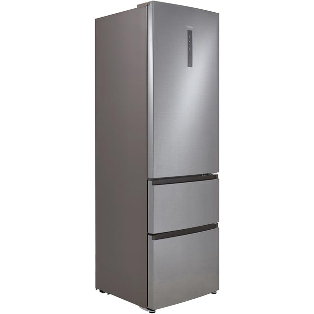Haier A3FE635CGJE 60/40 Frost Free Fridge Freezer - Silver - A+ Rated