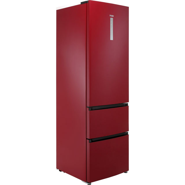 Haier A3FE635CRJ Free Standing Fridge Freezer Frost Free in Red