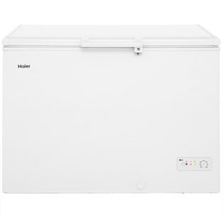 Haier BD-319RAA Free Standing Chest Freezer in White