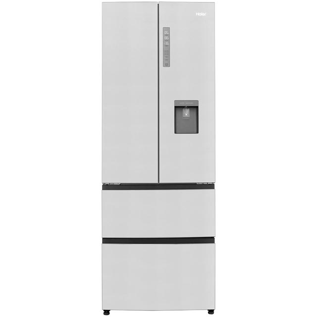 Haier BE3FE742CMJW 60/40 Frost Free Fridge Freezer - Stainless Steel - A++ Rated - BE3FE742CMJW_SS - 1