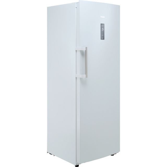 Image of Haier H2F-220WF Frost Free Upright Freezer with Fixed Door Fixing Kit - White - F Rated