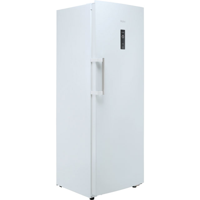 Haier Frost Free Upright Freezer - Silver - A+ Rated