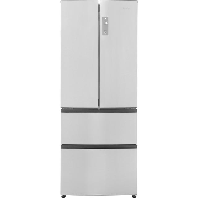 Haier HB14FMAA American Fridge Freezer - Stainless Steel - A+ Rated - HB14FMAA_SS - 1