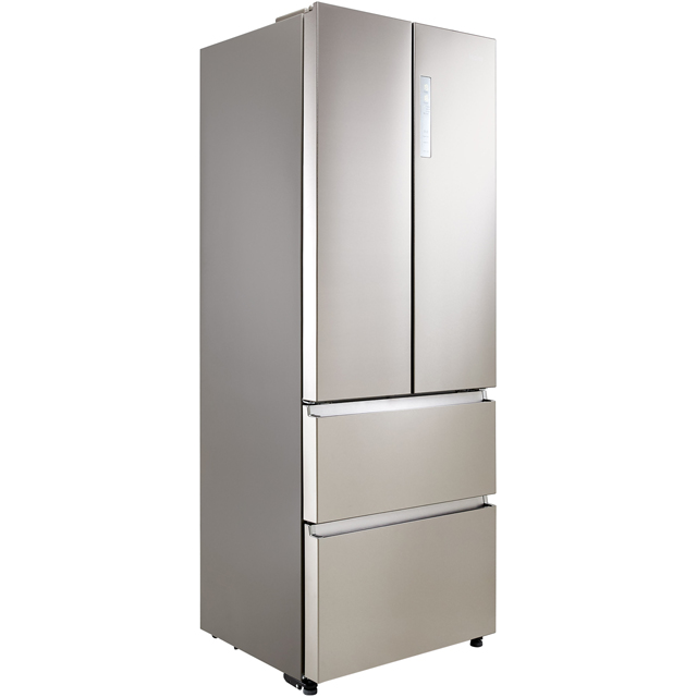 Haier HB15FPAA Fridge Freezer - Stainless Steel Effect - HB15FPAA_SI - 2