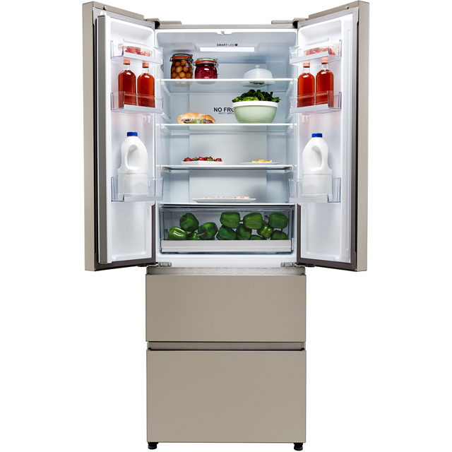 Haier HB15FPAA Fridge Freezer - Stainless Steel Effect - HB15FPAA_SI - 3