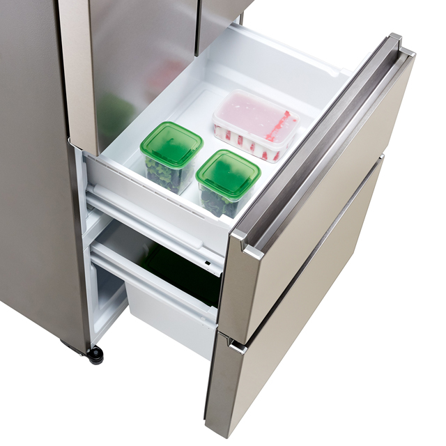 Haier HB15FPAA Fridge Freezer - Stainless Steel Effect - HB15FPAA_SI - 4