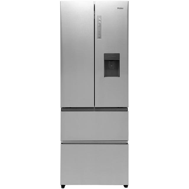 Haier HB16WMAA American Fridge Freezer - Stainless Steel Effect - A+ Rated
