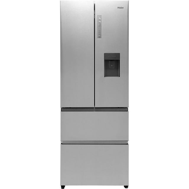 Image of Haier HB16WMAA American Fridge Freezer - Stainless Steel Effect - F Rated