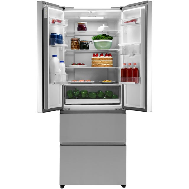 Haier HB16WMAA American Fridge Freezer - Stainless Steel Effect - HB16WMAA_SSL - 2