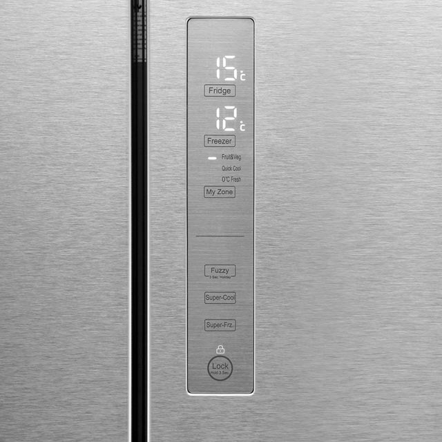 Haier HB16WMAA American Fridge Freezer - Stainless Steel Effect - HB16WMAA_SSL - 4
