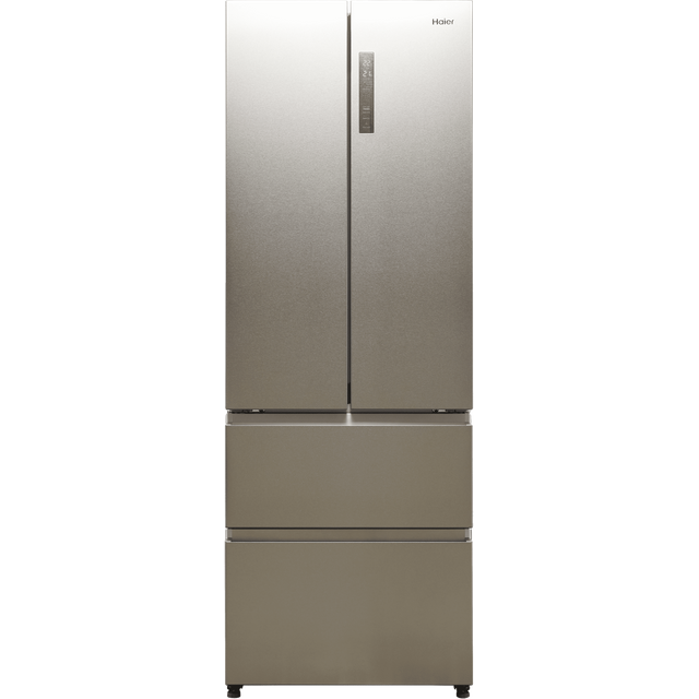 Haier HB20FPAAA American Fridge Freezer - Stainless Steel - E Rated